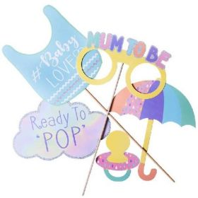 Baby Shower Photo Props, pk5