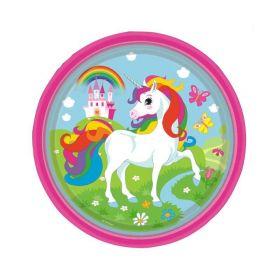 Unicorn Paper Plates pk8 23cm