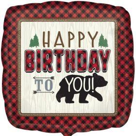 "Little Lumberjack Foil Balloon 17"""