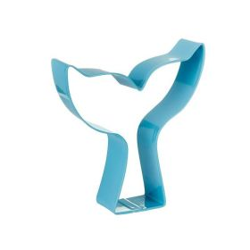 Mermaid Blue Tail Cookie Cutter 9.5cm