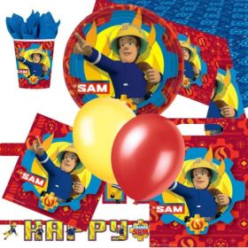Fireman Sam Ultimate Party Pack for 8