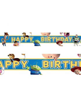 Disney Toy Story 3 Foil Banner 4.5m