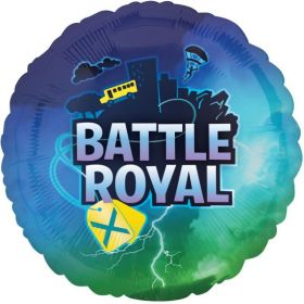 Battle Royal Foil Balloon 17""