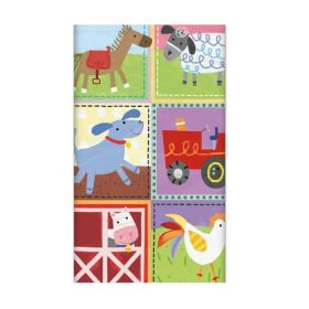 Farm Party Party Tablecover, plastic