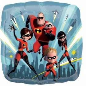 The Incredibles 2 Standard Foil Balloon 17''