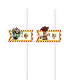 Toy Story 4 Straws, pk4