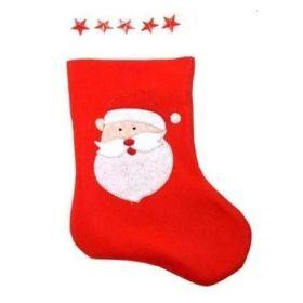 Christmas Flashing Star Stocking