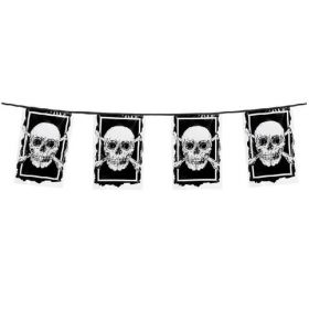 Pirate Flag Banner 6m