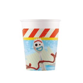 Toy Story 4 Paper Party Cups 200ml, pk8