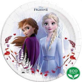 Frozen 2 Destiny Awaits Party Plates 23cm, pk8