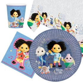 Moon and Me Party Tableware Pack for 8
