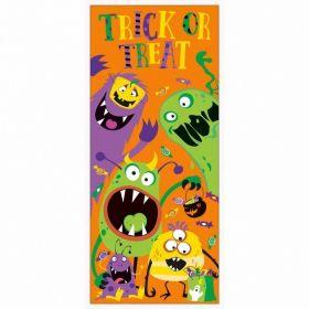 Silly Halloween Monsters Door Poster 68.5cm x 152cm