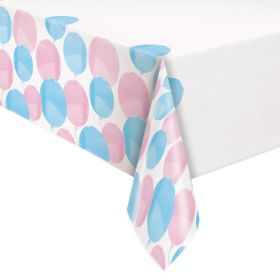 Gender Reveal Party Tablecover 1.37m x 2.13m