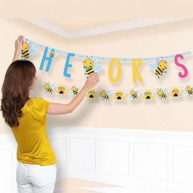 What Will It Bee? Combo Letter Banners, pk2