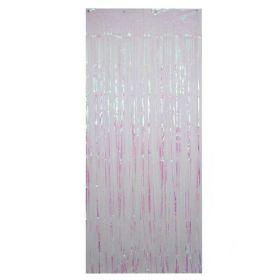 Iridescent Foil Curtain