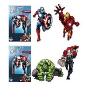 Avengers Cutouts pk4 30cm