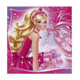Barbie Pink Shoes Luncheon Napkins 33 cms, pk20