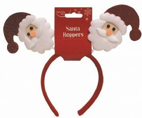 Santa Head Bopper