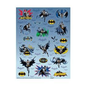 Batman Stickers Sheet, pk4