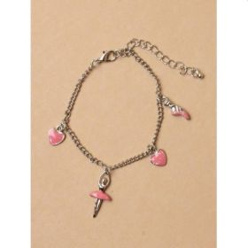 Ballerina Charm Bracelet