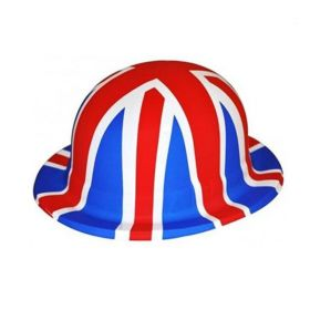 Great Britain Union Jack Plastic Hat