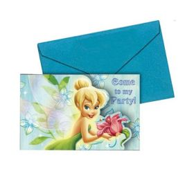 Disney Fairyland Invitations, pk6