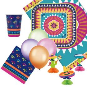 Boho Mexican Fiesta Ultimate Party Pack for 8