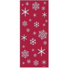 Christmas Tree & Snowflake Sparkle Cello Bags