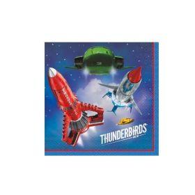 Thunderbirds Napkins pk16