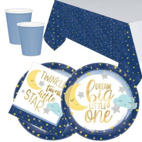 Twinkle Little Star Party Tableware Pack for 16
