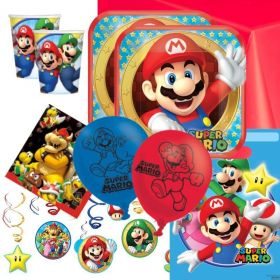 Super Mario Deluxe Party Pack for 16