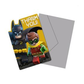 LEGO Batman Thank You Cards, pk8