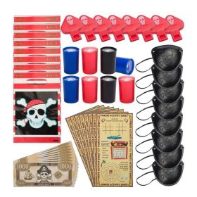Pirate Party Bags Fillers, pk48