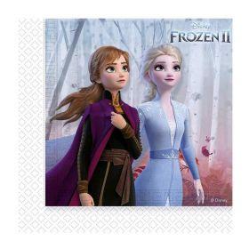 Disney Frozen 2 Party Napkins 33cm x 33cm, pk20