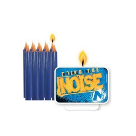 NERF Party Candles Set