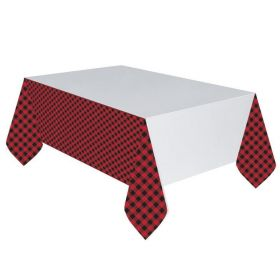 Little Lumberjack Party Tablecover 1.37m x 2.43m