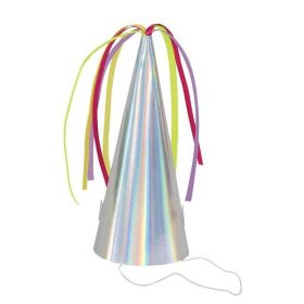 Unicorn Birthday Horn Party Hats, pk8