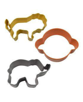 Jungle Animal Cookie Cutter Set