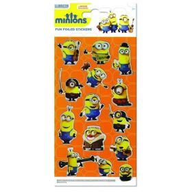 Minions Fun Foiled Stickers
