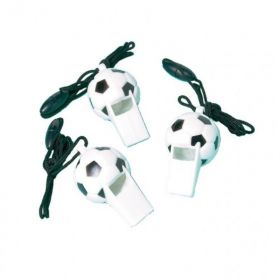 Football Whistle, 12pk