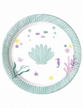Party Under The Sea Party Plates, pk8
