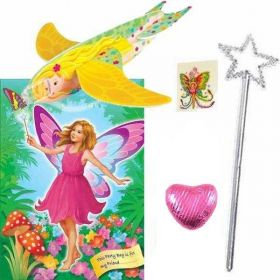 Girls Fairy Theme Pre Filled Party Bags (no. 2), one supplied