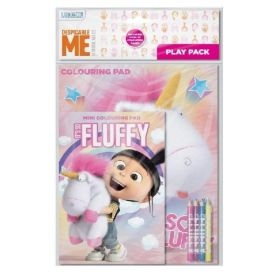 Despicable Me Fluffy Play Pack