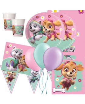 Pink Paw Patrol Party Deluxe Pack for 16