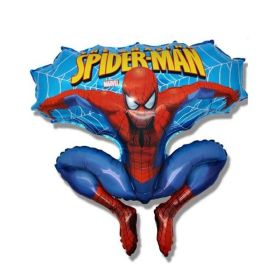 Spiderman Shaped Foil Balloon