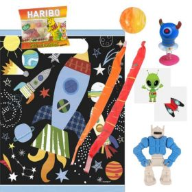 Space Themed Pre Filled Paty Bags