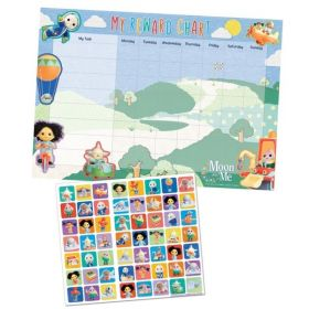 Moon and Me Reward Chart & Stickers