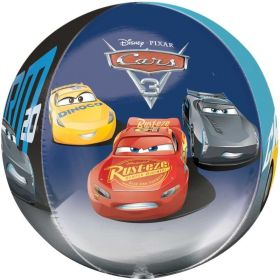 Cars 3 Orbz Foil Balloon 16""