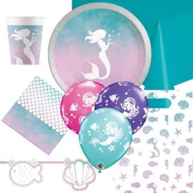 Mermaid Elegant Ultimate Party Pack for 8