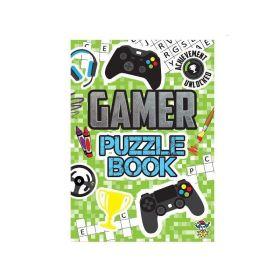 Gamer Puzzle Book